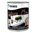 Teknos Futura 15 Полуматовая тиксотропная уретан-алкидная краска для внутренних работ