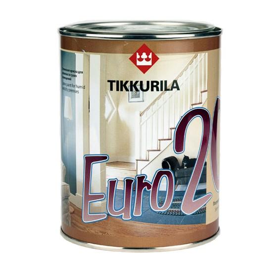Finncolor Euro 20 краска для стен и потолков в сухих и влажных помещениях