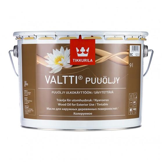 Tikkurila Valtti Puuoljy Масло для защиты древесины от влаги, грязи и растрескивания.