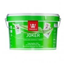 Tikkurila Joker Гипоаллергенная интерьерная краска с шелковистым эффектом.