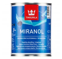 Tikkurila Miranol Эмаль для металлических и деревянных поверхностей внутри и снаружи помещений.