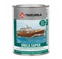 Tikkurila Unica Super Износостойкий уретано-алкидный лак быстрого высыхания полуматовый