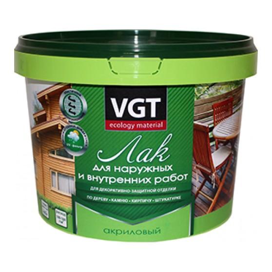 VGT лак для внутренних и наружных работ