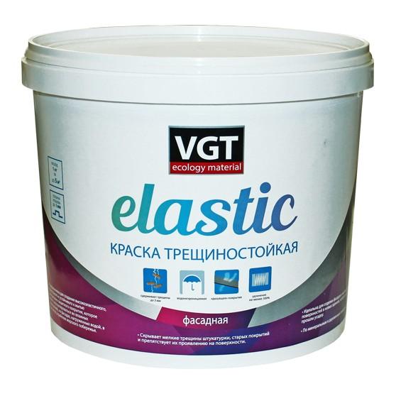 Краска трещиностойкая VGT Elastic