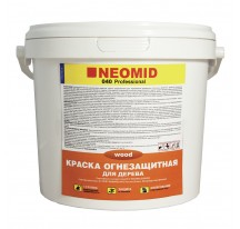 Neomid огнебиозащитная краска для дерева