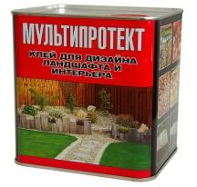 МультиПротект – ПУ Полимерный клей для ландшафтного дизайна и интерьера
