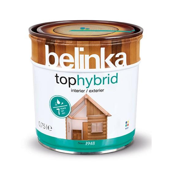 Belinka Tophybrid гибридное декоративное покрытие для древисины