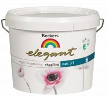 Beckers Elegant Vaggfarg Matt / Беккерс Элегант матовая краска для стен