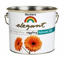 Beckers Elegant Vaggfarg Halvmatt / Беккерс Элегант полуматовая краска для стен