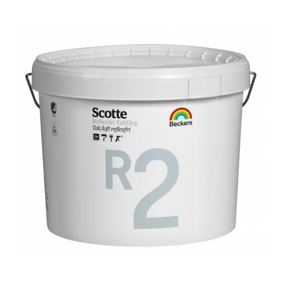 Beckers Scotte R2 Takfarg / Беккерс Скотт матовая краска для потолков