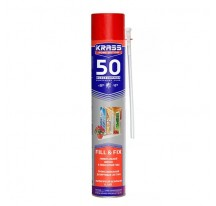 Krass Home Edition 50 STANDARD всесезонная / Красс Монтажная пена универсальная всесезонная