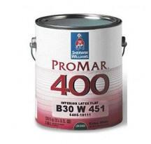 Sherwin Williams ProMar 400 Interior Latex Flat / Шервин Вильямс Краска латексная