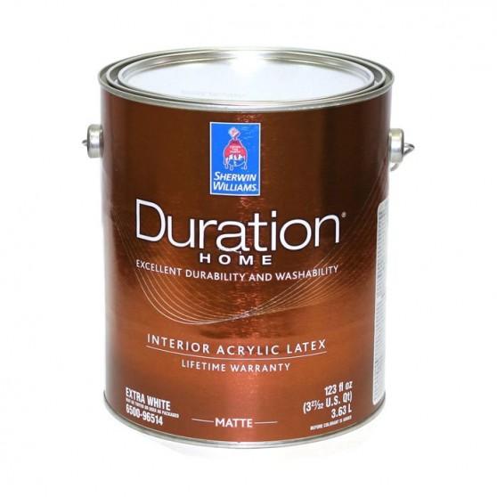 Sherwin Williams Duration Home Interior Latex Matte Low Voc / Шервин Вильямс Краска интерьерная
