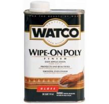 Watco Wipe On Poly полироль по дереву глянцевая