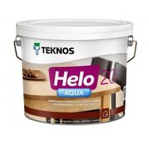 Teknos Helo Aqua 20 Водоразбавляемый полуматовый лак для деревянных поверхностей внутри и снаружи помещений