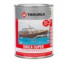 Tikkurila Unica Super Износостойкий уретано-алкидный лак быстрого высыхания полуглянцевый
