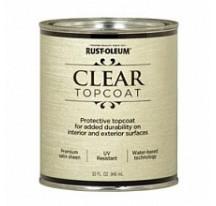 Clear TopCoat Лак финишный на акриловой основе