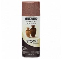Декоративная краска American Accents Stone с эффектом камня Красный гранит