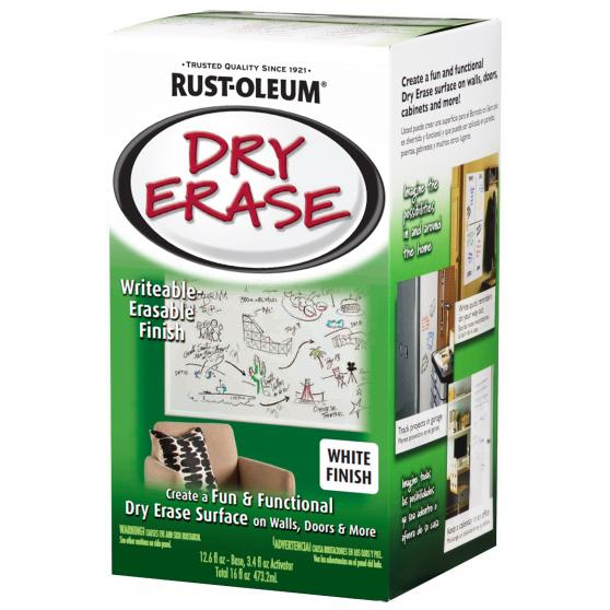 Краска с эффектом маркерной доски Rust-Oleum Specialty Dry Erase белая