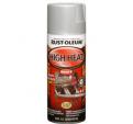 Термостойкая краска спрей Rust-Oleum Specialty High Heat Spray до 1093°С матовая алюминий