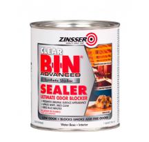 Грунтовка акриловая Zinsser B-I-N Advanced блокирующая запахи прозрачная, матовая, 0,946л