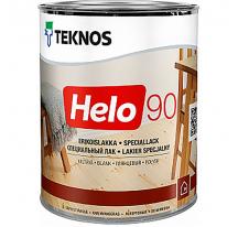 Teknos Helo 90 Глянцевый лак по дереву для ответственных работ внутри и снаружи помещений
