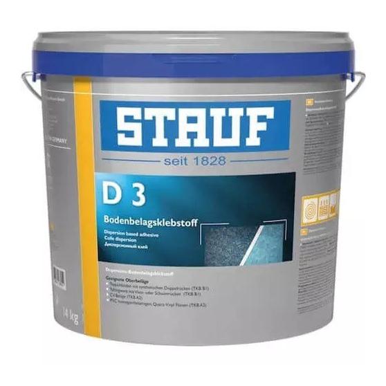Stauf D 3 Универсальный дисперсионный клей для эластичных напольных покрытий