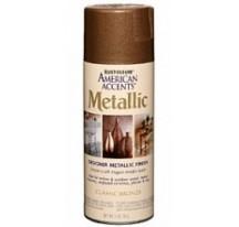 Декоративная краска алкидная American Accents Metallic с эффектом хром металлик натёртое золото