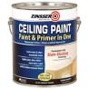 Латексная краска для потолка Zinsser Ceiling Paint акриловая на водной основе