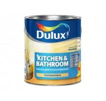 Dulux Realife (Kitchen & Bathroom) акриловая краска повышенной влагостойкости для стен и потолков