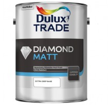 Dulux Trade Diamond Matt Матовая краска повышенной износостойкости для стен и потолков.