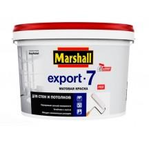 Marshall Export 7 Матовая водно-дисперсионная (латексная) краска для стен и потолков