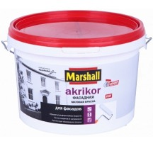 Marshall Akrikor Фасадная Матовая латексная краска для наружных работ