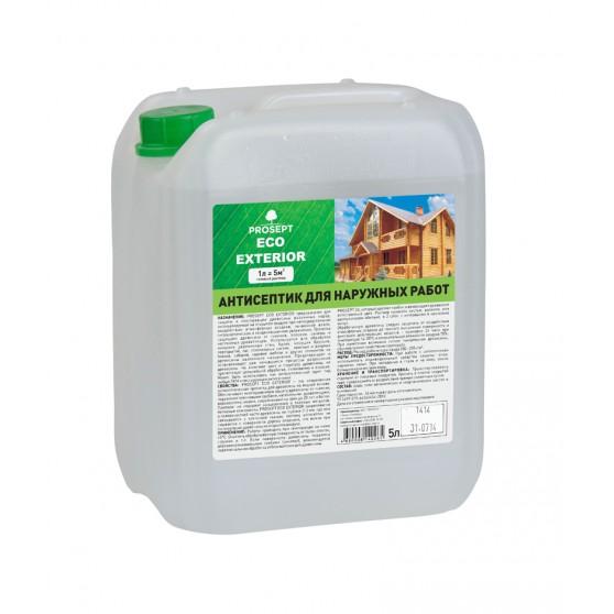 Prosept Eco Exterior Антисептик для наружных работ по древесине