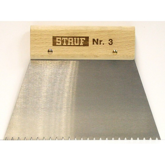 Stauf Шпатель для нанесения клея № 3,4,5