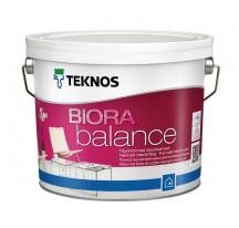 Teknos Biora Balance Водоразбавляемая совершенно матовая интерьерная краска без запаха