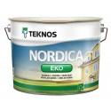 Краска фасадная по дереву Teknos Nordica Eko / Текнос Нордика Эко