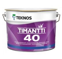 Teknos Timantti 40 Водоразбавляемая полуглянцевая краска для сухих и влажных помещений