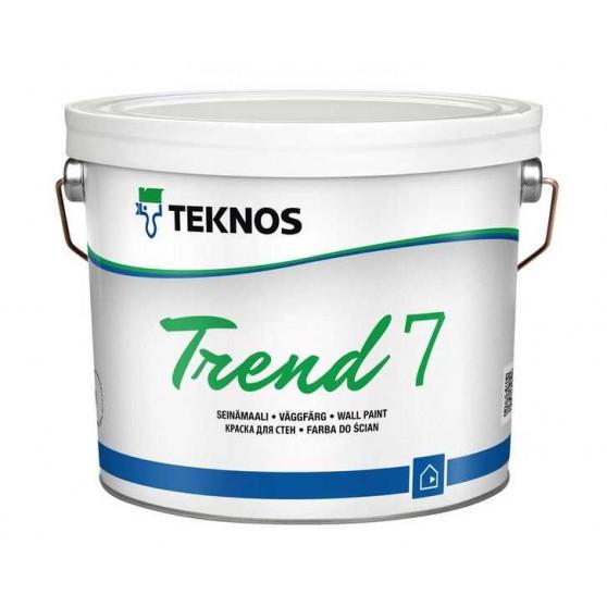 Teknos Trend 7 Водоразбавляемая матовая краска для стен